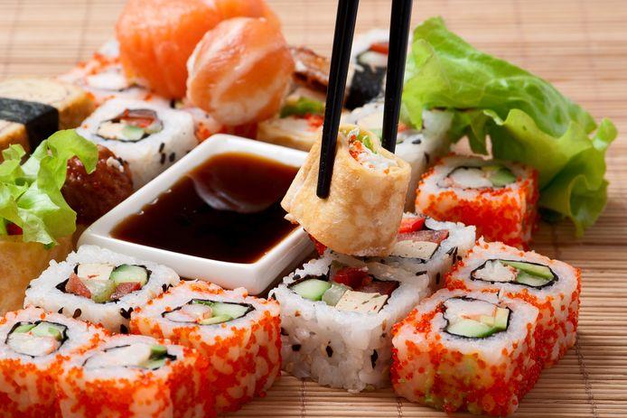 Sushi. Het voedsel van de millennial.