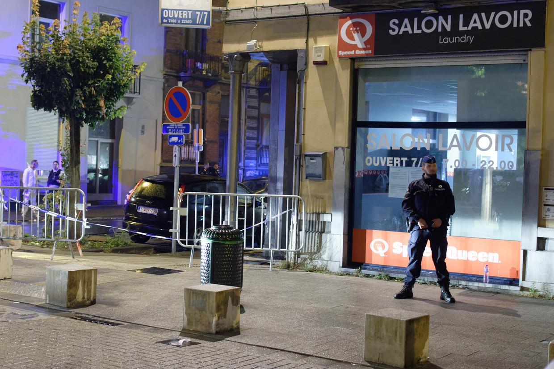 De politie onderzoekt de dodelijke schietpartij in Vorst Beeld BELGA
