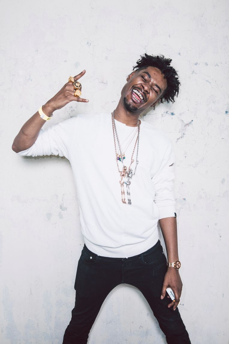 Rapper Danny Brown. Beeld Getty Images Portrait