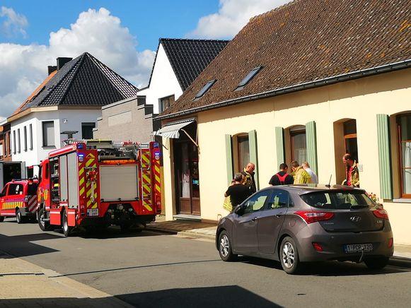 De brandweer kon snel terugkeren.