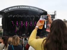 Quelque 57.000 festivaliers ont arpenté le Brussels Summer Festival