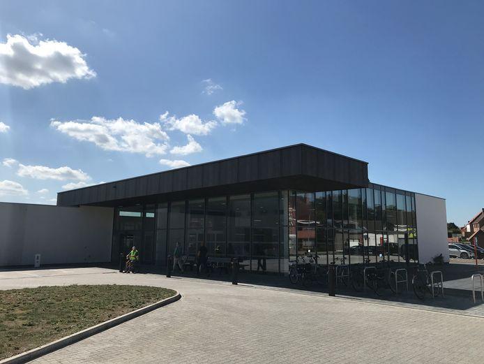 Lokaal dienstencentrum Biezenbilk in de Ettelgemsestraat, dat vanaf woensdag open is.