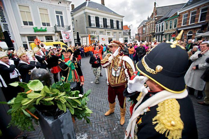 De opening van het carnavalsjaar, 2009.