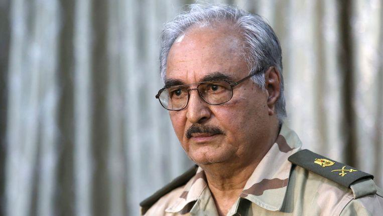 Generaal Khalifa Haftar.