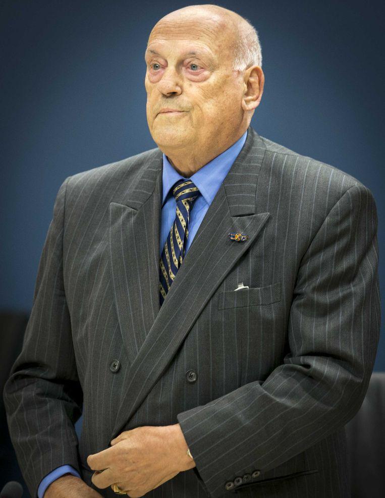 Jan Timmer, president-commissaris van NS van 1996 tot en met 2001. Beeld anp