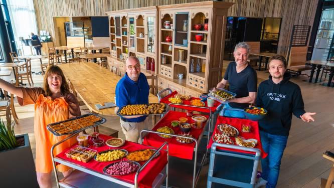 Maarten & Dorothee verrassen Ornelis & Rogiers met 1.000 'appekes' voor hun 1.000ste show