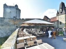 Gerenoveerd Burgcafé Ferdinands in Bad Bentheim geopend … en de Erbprinz zag dat het goed was