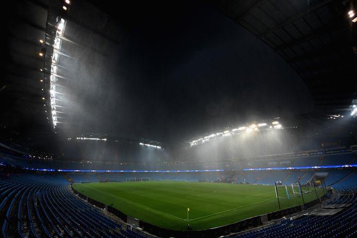 Het Etihad Stadium.
