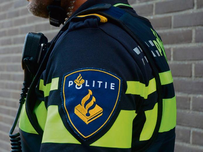 Stockfoto van Eldridge Pentury politieagent