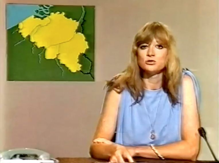 'Dank dat u bij ons was' is een vierdelige reeks over 40 jaar tv-journalistiek naar aanleiding van 40 jaar Martine Tanghe als nieuwsanker. Beeld RV/VRT