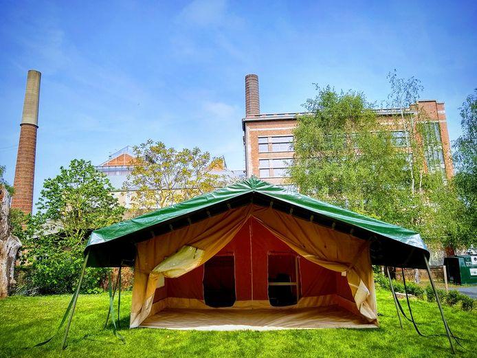 Het is zover: vanaf nu kan je overnachten op de site Transfo, de voormalige elektriciteitscentrale in Zwevegem.