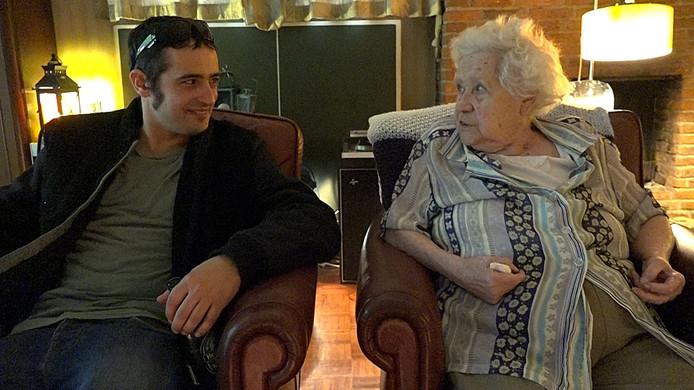 Chris en Hildegard, beeld uit de film.