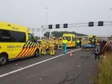 Vijf gewonden bij ongeval op A15