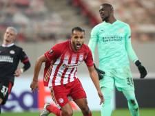 Dramatisch verdedigend PSV ondanks goals Zahavi onderuit in Griekenland