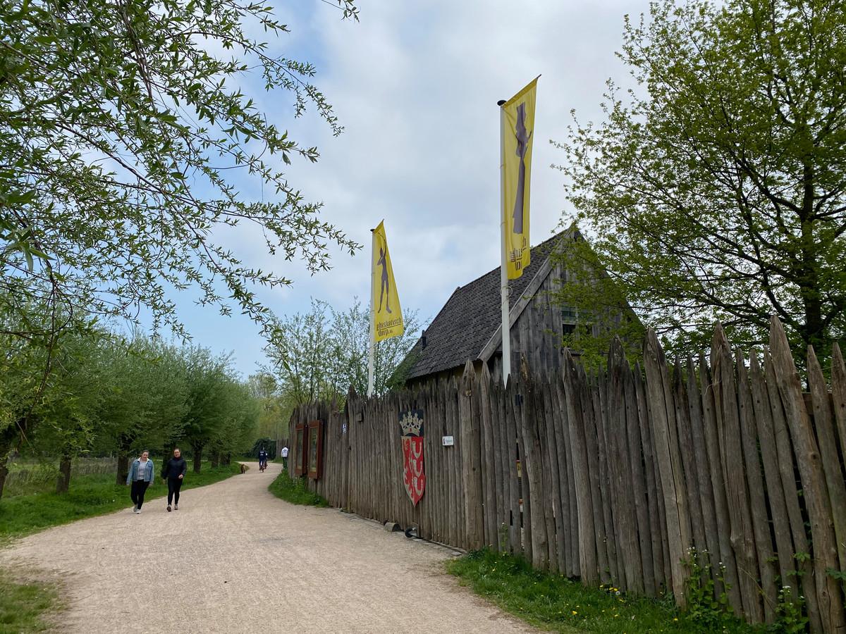 Ook het Prehistorisch Dorp in Genneper Parken, onderdeel van het Eindhoven Museum, is in de corona-crisis gesloten.