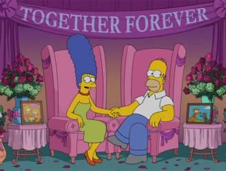 Homer en Marge ontkennen relatiebreuk