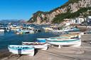 Het eiland Capri in Italië.