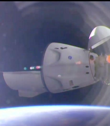 La capsule de SpaceX s'est amarrée à l'ISS