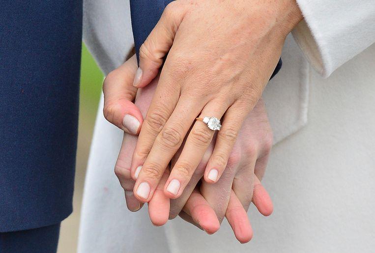 De verlovingsring van Meghan Markle.