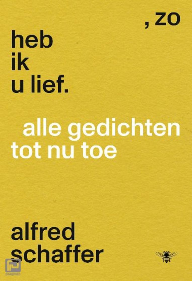 Alfred Schaffer: Zo heb ik u lief Beeld De Bezige Bij