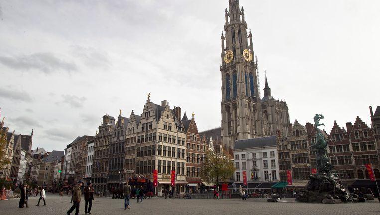 De Onze-Lieve-Vrouwekathedraal in Antwerpen. Beeld BELGA