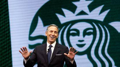 Ex-topman Starbucks overweegt gooi naar presidentschap in 2020