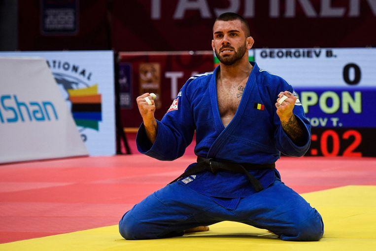 Toma Nikiforov: 'Na mijn nederlaag in Rio heb ik mijn ziel blootgelegd. Maar in ons land draaien ze het mes in de wonde dan graag nog eens om.' Beeld AFP