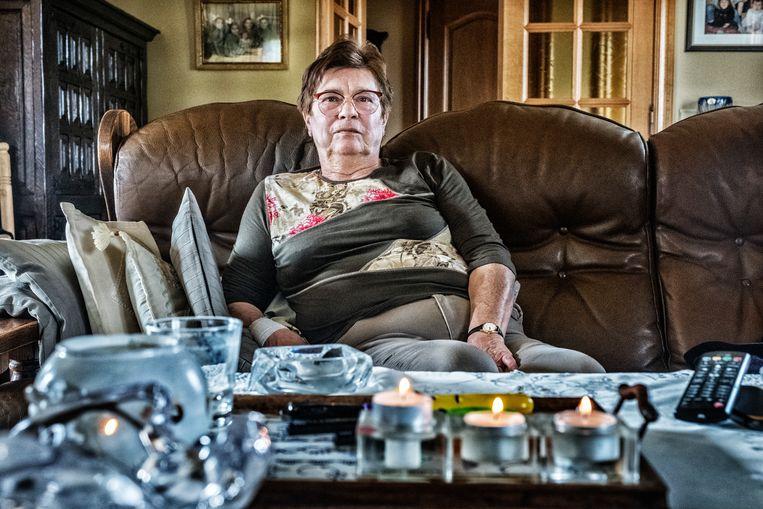 Josée Verhofstadt (72) uit Perk is palliatief door darmkanker. Beeld Tim Dirven