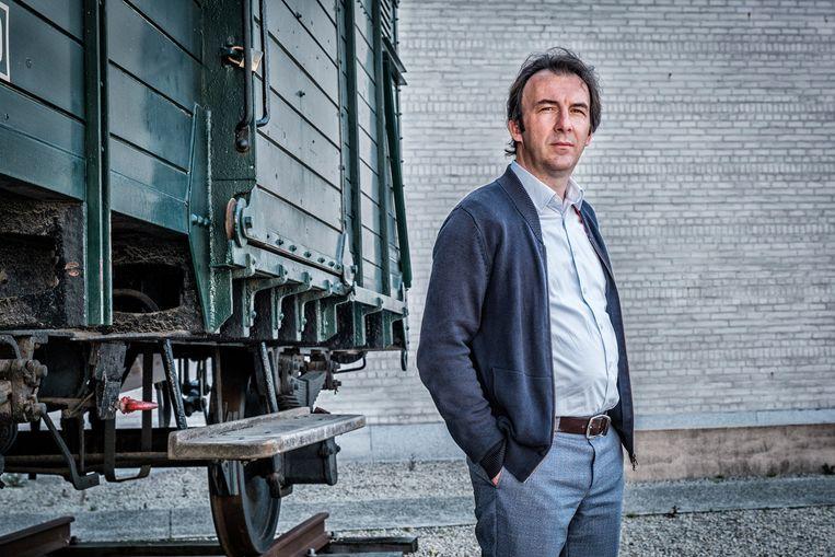 Over het nieuwe Hannah Arendt Instituut: 'We gaan in Mechelen toch niet beginnen met concurrentie tussen twee groepen die voor een betere wereld ijveren? Wat mij betreft, kan ik met iedereen praten en ik zal dat graag doen.' Beeld Tim Dirven