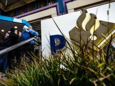 Brandbaar voorwerp tegen politiebureau Eindhoven gegooid: 'Er waren meteen vlammen'