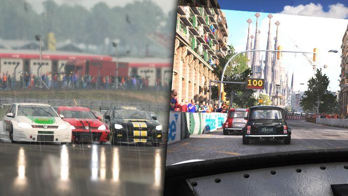 Keihard racen op mooie circuits: dat is GRID.