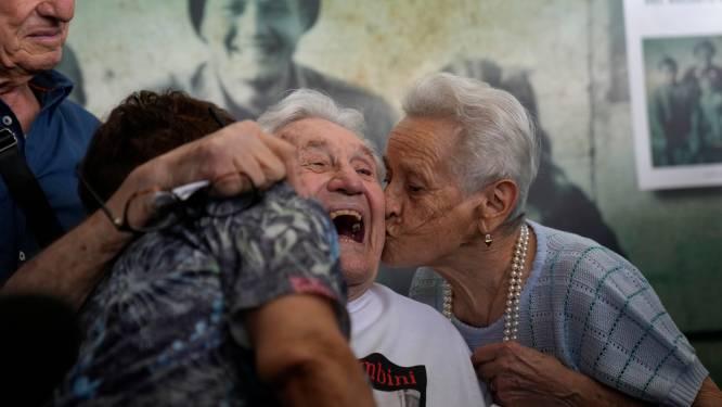 Un vétéran américain retrouve trois Italiens qu'il a sauvés pendant la Seconde Guerre mondiale