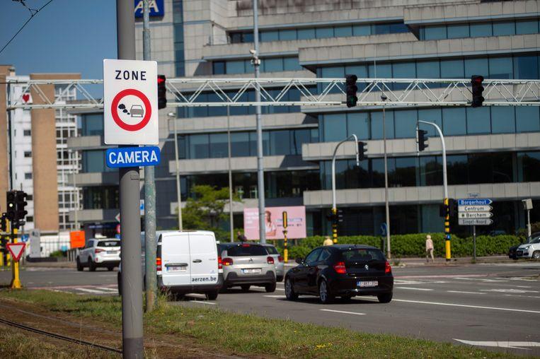 Antwerpen scoort bijzonder slecht wat de mortaliteitsgraad door stikstofdioxide betreft. Beeld Klaas De Scheirder
