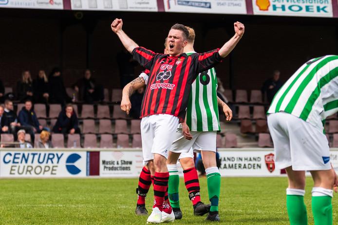Olaf Siegers: drie goals voor GFC.