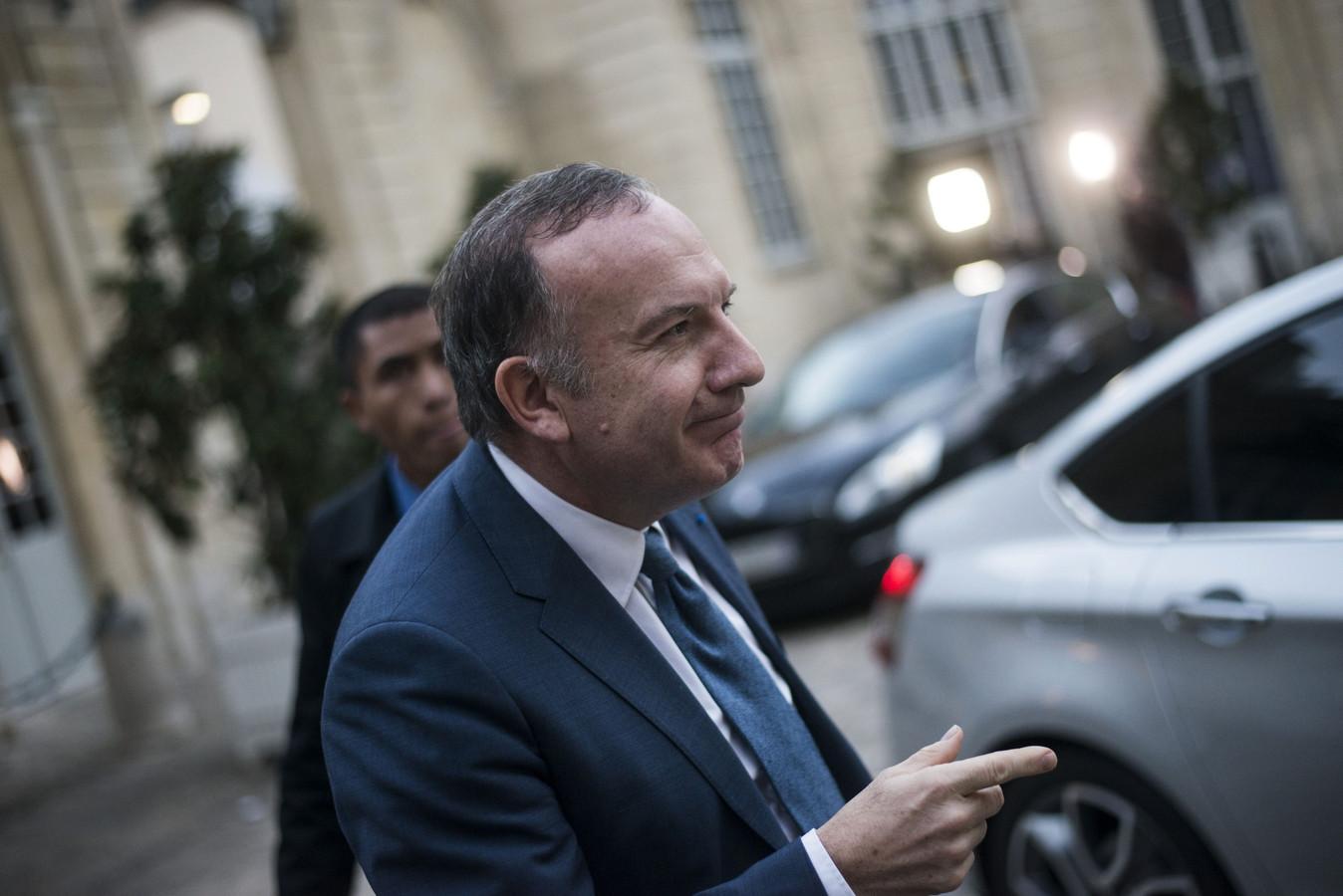 Europees werkgeversvoorzitter Pierre Gattaz.