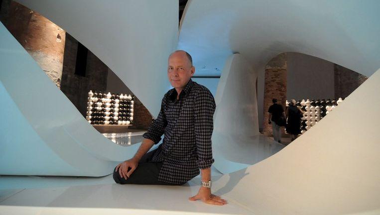 Architect Ben Van Berkel. Foto EPA Beeld