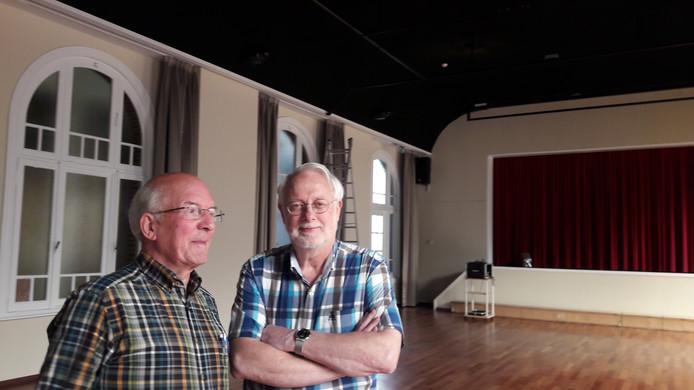Bram Busschers (links) en Erik Mastenbroek van het Patronaat-bestuur