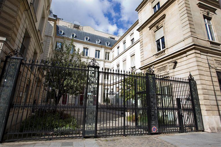 Het oude partijhoofdkwartier van de PS in Parijs. Beeld REUTERS