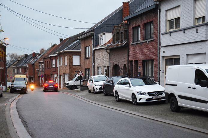 De Topmolenstraat, tussen de Hoogkouterbaan en de Bosstraat