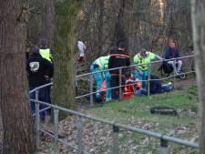 Jonge motorcrosser met traumahelikopter naar ziekenhuis na ongelukkige val in Boekel
