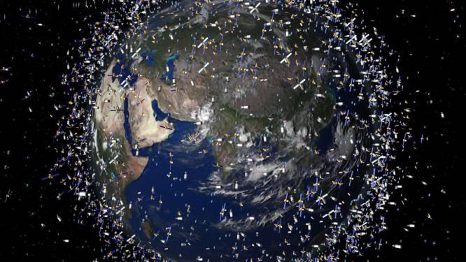 Gevaar op 'catastrofale botsingen' door wildgroei goedkope satellieten