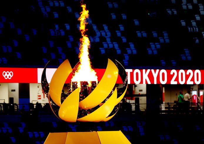 De Olympische vlam is ontstoken.