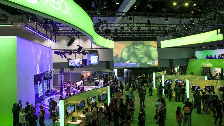 De Xbox-stand op de editie van vorig jaar. Beeld AP