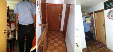 Huurders kunnen niet rechtop staan in illegale mini-kamers New York