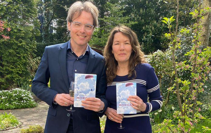 Ariane Greep en Bas Steman hopen in juli naar Wales te kunnen om een documentaire te maken over Stemans roman 'Morgan, een liefde', die onlangs werd vertaald in het Engels.