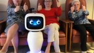 Studenten HAST brengen zorgrobot naar Alkens woonzorgcentrum Cecilia  tegen verveling tijdens quarantaine