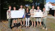 An Tafel levert scouts 1.200 euro op