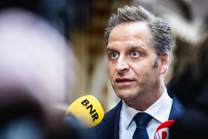 Hugo de Jonge, minister van Volksgezondheid