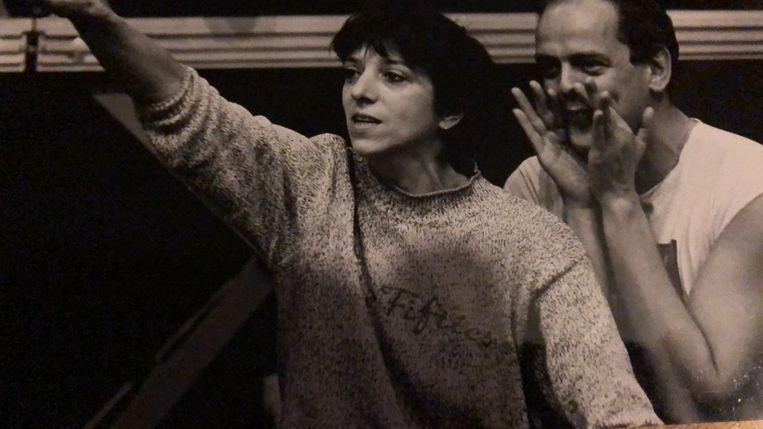 Carla van Driel in 1991 in Jeugdtheater Hofplein. Beeld