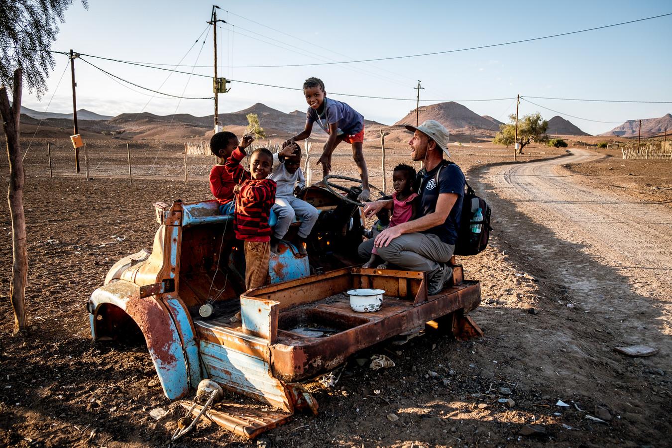 Avontuur in Namibië.